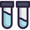 science, chemical, education, Healthcare And Medical, Test Tube, Chemistry DarkSlateGray icon