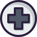 Health Care, First aid, hospital, medical, signs, Health Clinic, Healthcare And Medical DarkSlateGray icon