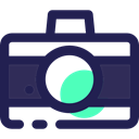 picture, photo camera, photograph, electronics, interface, digital, technology MidnightBlue icon