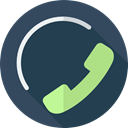 telephone, support, Communications, phone call, customer service DarkSlateGray icon