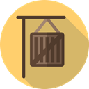 Delivery, Box, cardboard, Shipping, packaging, package, Shipping And Delivery DarkKhaki icon