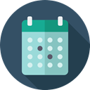 Schedule, miscellaneous, date, time, Organization, Calendar, interface, Calendars, Administration DarkSlateGray icon