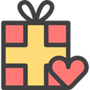 gift, Christmas Present, birthday, christmas, present, surprise, Birthday And Party, giftbox Icon