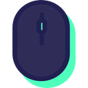 computing, technology, computer mouse, Mouse, clicker, electronics, electronic, Technological DarkSlateGray icon