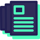 documents, Archive, document, File, interface, Files And Folders DarkSlateGray icon