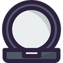 Mirror, Beauty, fashion, Beauty Salon, Grooming DarkSlateGray icon