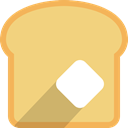 meal, Bread, breakfast, food, toast, Bakery, Food And Restaurant Khaki icon