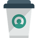 Paper Cup, Coffee Shop, food, coffee cup, hot drink, Food And Restaurant, Coffee, Take Away Icon