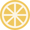 food, Citrus, Food And Restaurant, vegan, organic, Lemon, vegetarian, Fruit, Healthy Food, diet SandyBrown icon