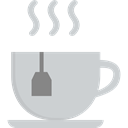 tea, Food And Restaurant, mug, Tea Cup, coffee cup, Coffee, hot drink, Chocolate, food LightGray icon