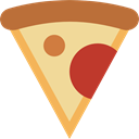 Italian Food, Food And Restaurant, junk food, Pizza, Unhealthy, Fast food, food, Pizzas Khaki icon