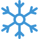 snowflake, Cold, meteorology, Snow, weather, nature, winter SteelBlue icon