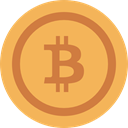 Commerce And Shopping, Money, Business, Currency, Cash, coin, Bitcoin SandyBrown icon