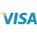 visa, Commerce And Shopping, commerce, Brands And Logotypes, Credit card, pay, payment method, Debit card Black icon