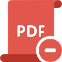 File Extension, File, Files And Folders, Format, file format, Pdf IndianRed icon