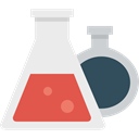 education, Test Tube, chemical, Flasks, flask, Chemistry, science Lavender icon