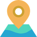 interface, Maps And Flags, Maps And Location, Orientation, Map, Geography, location, position Icon