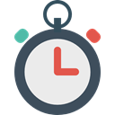 miscellaneous, Chronometer, interface, timer, time, Wait, stopwatch Lavender icon
