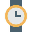 Elegant, watch, time, wristwatch, fashion, miscellaneous, technology Gainsboro icon