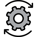 cogwheel, Gear, configuration, miscellaneous, Tools And Utensils, settings Black icon