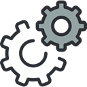Gear, miscellaneous, Tools And Utensils, cogwheel, settings, configuration DarkSlateGray icon