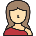 user, Avatar, profile, woman, Social, Femenine, Girl Gray icon