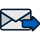 mail, Email, Message, sending, Communications, Note, envelope, Multimedia Black icon