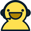 user, Headphones, technology, Call, support, Telemarketer, Microphone, Avatar, customer service, people Khaki icon