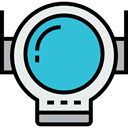 user, equipment, galaxy, Aqualung, Professions And Jobs, Astronaut, space suit, Astronomy, space, fashion MediumTurquoise icon