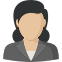 profile, Businesswoman, Social, user, Avatar, woman DarkSlateGray icon
