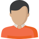 profile, Avatar, Social, Man, user Tomato icon