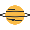 Astronomy, solar system, planet, education, uranus, science SandyBrown icon