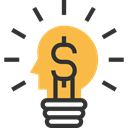 electricity, invention, Business And Finance, Light bulb, technology, illumination, Idea Black icon