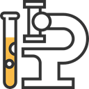 chemical, laboratory, education, medical, Test Tube, research DarkSlateGray icon
