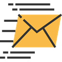 Multimedia, Communications, envelope, Message, interface, mail, Email, envelopes, mails SandyBrown icon