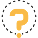 Faq, question mark, speech bubble, Commerce And Shopping, button, question, help, signs Icon