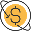 Waranty, Business And Finance, Money Back, Commerce And Shopping, guarantee, Dollar Symbol SandyBrown icon