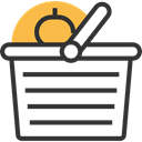 Supermarket, commerce, shopping basket, Shopping Store, online store, Commerce And Shopping DarkSlateGray icon