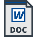 Doc File Format, Word Doc, Word Document, Doc, interface, Microsoft Word, document, Doc Format, Doc File, Files And Folders Lavender icon