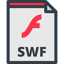 interface, Files And Folders, Swf Format, Swf Symbol, Swf File Format, Swf File, swf Lavender icon