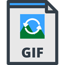 Files And Folders, Gif, Multimedia, image, picture, Archive, document, File Lavender icon