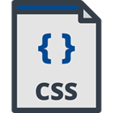 css file, Css, interface, Files And Folders, Css Format, Css Symbol, Css File Format Gainsboro icon