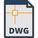 Dwg Extension, interface, Files And Folders, Dwg Format, Dwg File Format, Dwg, Dwg File Gainsboro icon