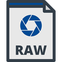 interface, Raw Image, Files And Folders, Raw Open File, Raw Extension, raw file, raw, Raw Format, Raw Image File Lavender icon