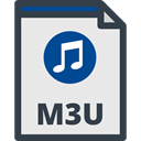 interface, playlist, Files And Folders, M3u Format, M3u, Playlist File, M3u File Format, M3u File Lavender icon
