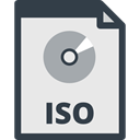 File, Files And Folders, Multimedia, Archive, Iso, document Lavender icon