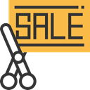 Discount, shopping, commerce, Sales, Shop, offer, sale, bargain, Commerce And Shopping SandyBrown icon