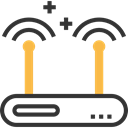 electronics, Wireless Connectivity, Wireless Internet, wireless, technology, Wifi Signal, Wifi, router Black icon
