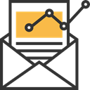 mail, envelope, Note, Email, Communications, Message DarkSlateGray icon