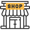 Business And Finance, Business, store, commerce, Shop, food DarkSlateGray icon